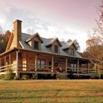 Stonemill Log Homes Springcrest Option Ext