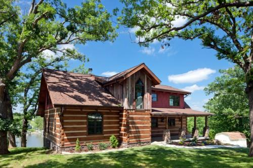Stonemill Log Timber Homes Polowniak Project