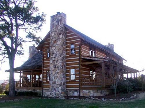 Stonemill Log Timber Homes Prestwick Model