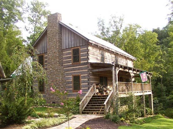 Stonemill Log Timber Homes