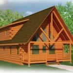Strongwood Log Home Mccrossen