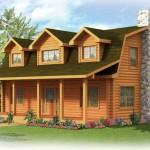 Strongwood Log Home Sawyer