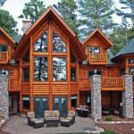 Strongwood Log Homes Shorewood Lodge Ext