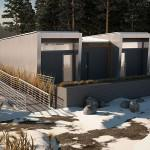 Students Alberta Create Sustainable Modular Home Fami