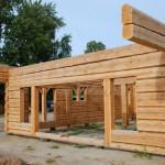 Styling Makes Dovetail Log Home Stand Out Crowd
