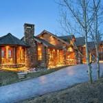 Summer Log Cabins Contemporary Twist North Salem Homes