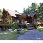 Superior Log Home Sale