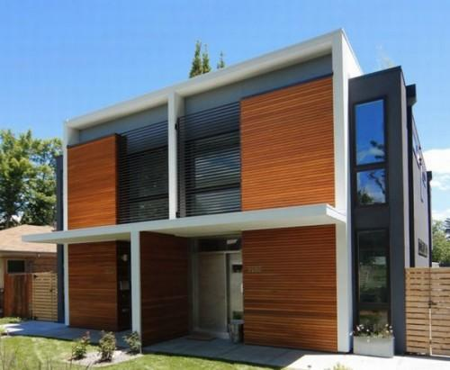 Sustainable Stuart Two Semi Detached Green Homes Urban Dwellers