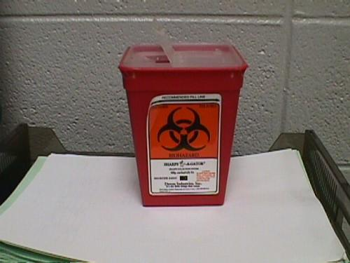 Syringe Disposal Containers