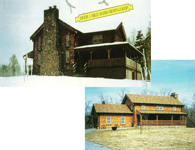 Take Look Our Log Homes Models