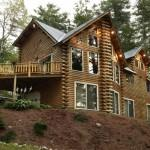 Tell More Katahdin Cedar Log Homes