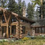 Telluride Log Cabin Floor Plan