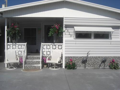 There Perfect Choice Complementing Any Mobile Home Exterior
