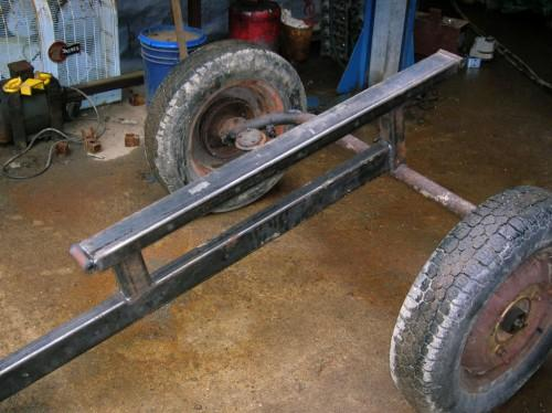 These Beam Sections Salvage Axle Came Back
