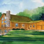 These Log Homes Hochstetler Traditional Series