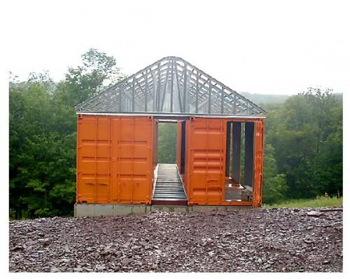 Tim Steel Structures Livingston Manor Container House