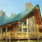 Timberline Log Home Plan Lodge Logs Inc Wyoming