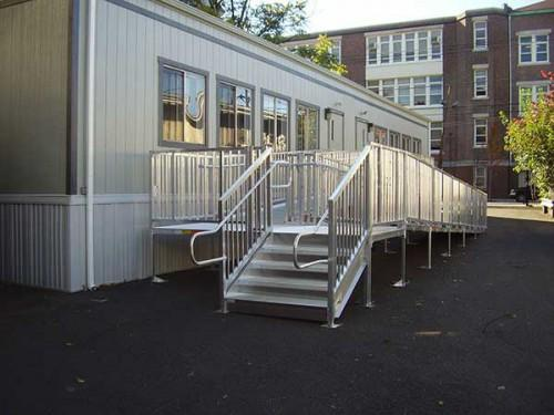 Titan Modular Wheelchair Ramps Ada Compliant Stairs