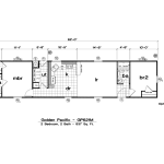 Tlc Manufactured Homes Golden Pacific Floor Plans