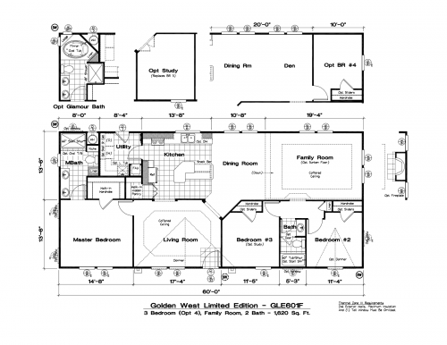 Tlc Manufactured Homes Golden West Limited Floor Plans