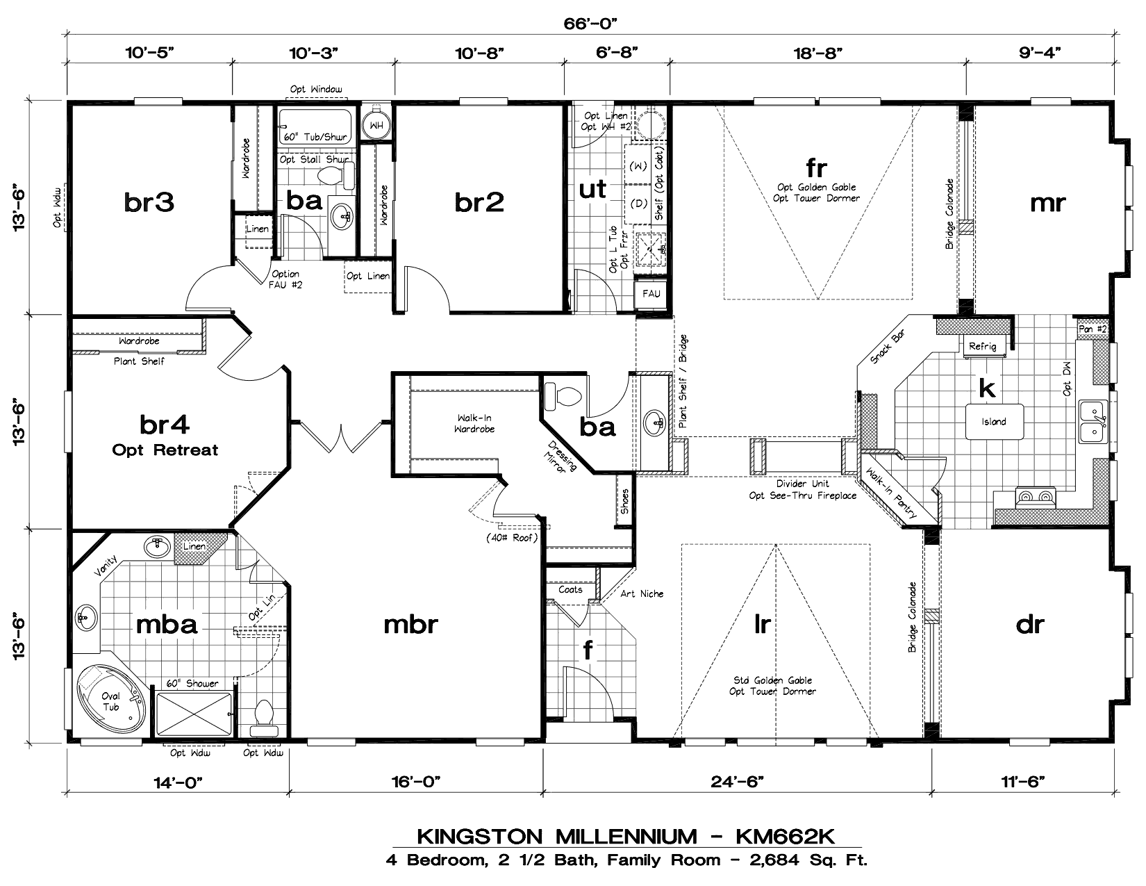 Tlc Manufactured Homes Kingston Millennium Floor Plans
