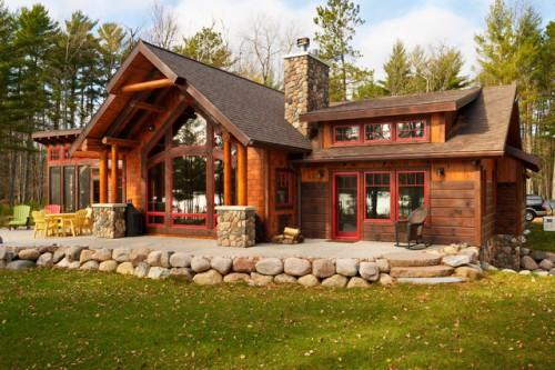 Tomahawk Log Country Homes Inc General Contractors