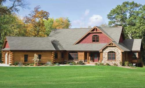 Tomahawk Log Country Homes Weber Home Plan