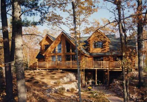 Tomahawk Log Country Homes White Sand Home Plan
