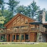 Traditional Element Log Cabin Homes Interior Fonrt