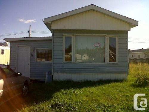 Trailer Home Sale Make Offer Longlac Ontario