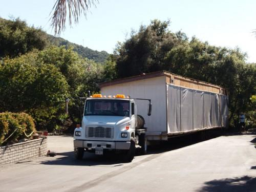 Transporting Used Mobile Home