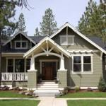 Trendy Craftsman Modular Homes Architecture Green Home