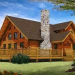 Trendy Log Home Designs Homes Cabins Floor