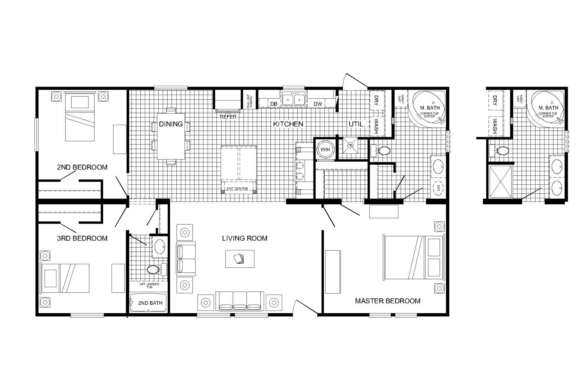 Trendy Manufactured Homes Floor Plans Furniture Mobile Home