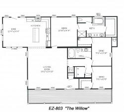 Triple Wide Mobile Homes Floor Plans