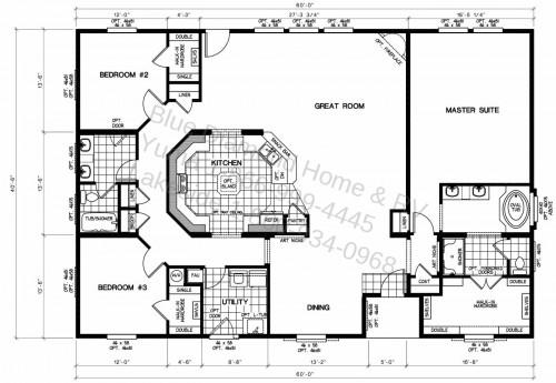 Triplewide Floor Plans