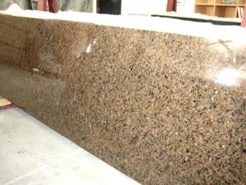 Tropical Brown Prefabricated Granite Countertops