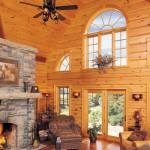 True North Log Homes Unveils New Wall System Doesn