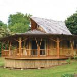 Turns Eco Friendly Bamboo Earth Prefab