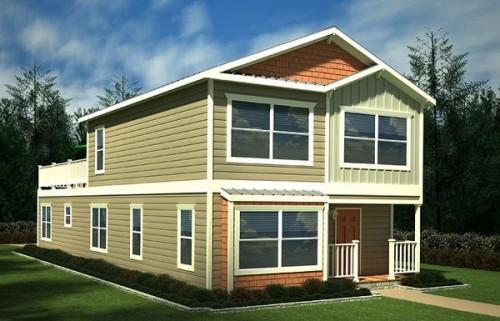 Two Story Manufactured Home Bed Bath