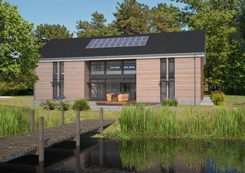Ultra Energy Efficient Prefab Homes Evodomus Barn