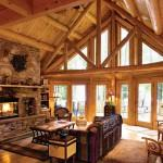 Updating Classic Log Cabin Maryland Photos
