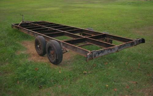 Used Mobile Home Frame Reliable Inexpensive Trailer