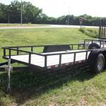 Used Rail Side Utility Tandem
