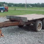 Used Trailer Livestock Home Made Pieds Canada