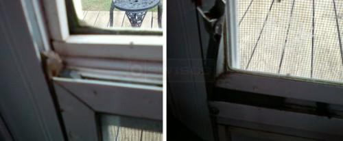 User Submitted Photos Their Fleetwood Mobile Home Storm Door