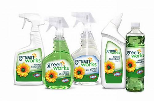 Using Eco Friendly Products Instead Chemical Cleaning