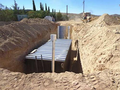 Using Shipping Containers Underground Homes