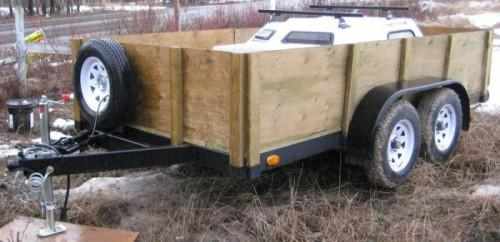 Utility Trailer Tandem Axles Sale Prince George