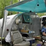 Vintage Home Built Camper Trailer